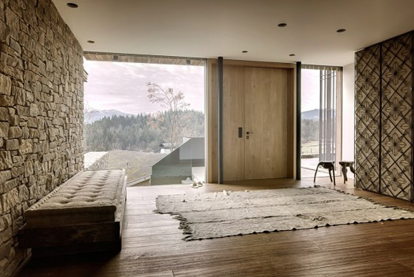 Wooden house interior in austrian alps - Deco interieur nature ...