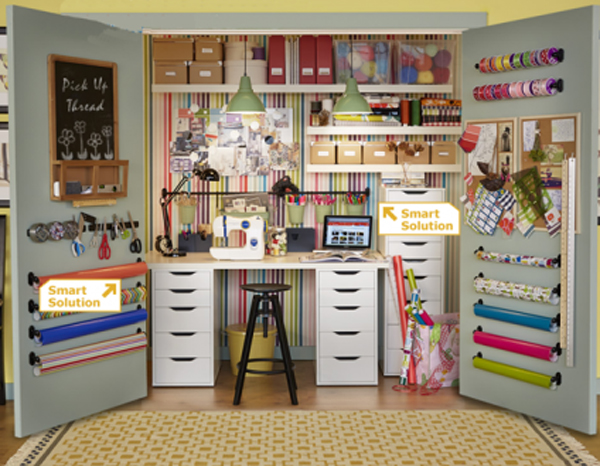 15 Ikea Home Office with Craft Ideas | Room