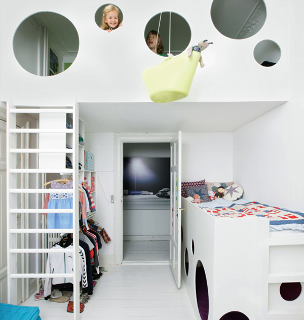 kid loft beds Kids Loft Beds with Creative Playroom