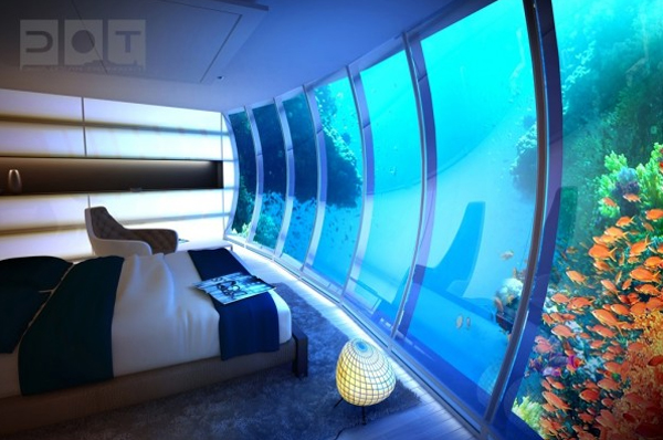 Under Water Bedroom Ideas