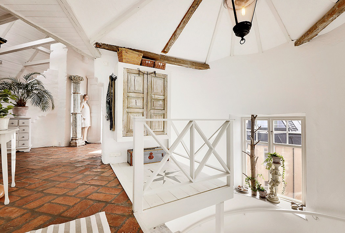 Gallery of attic apartments with shabby chic styles