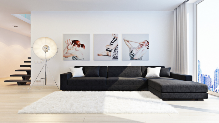 Best wall art in living room for Painting wall designs for living room