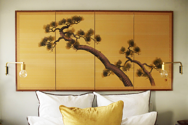 japanese wall decals Orlando Apartments: Modern Rustic Edition