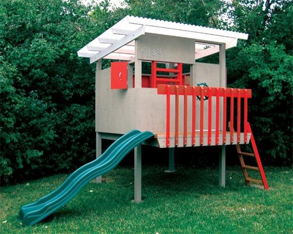 Kids play garden for Modern house roleplay