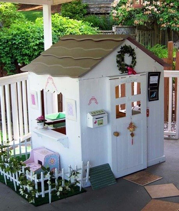 20 Kids Playing House Beautiful Renovations In Garden Home Design And Interior