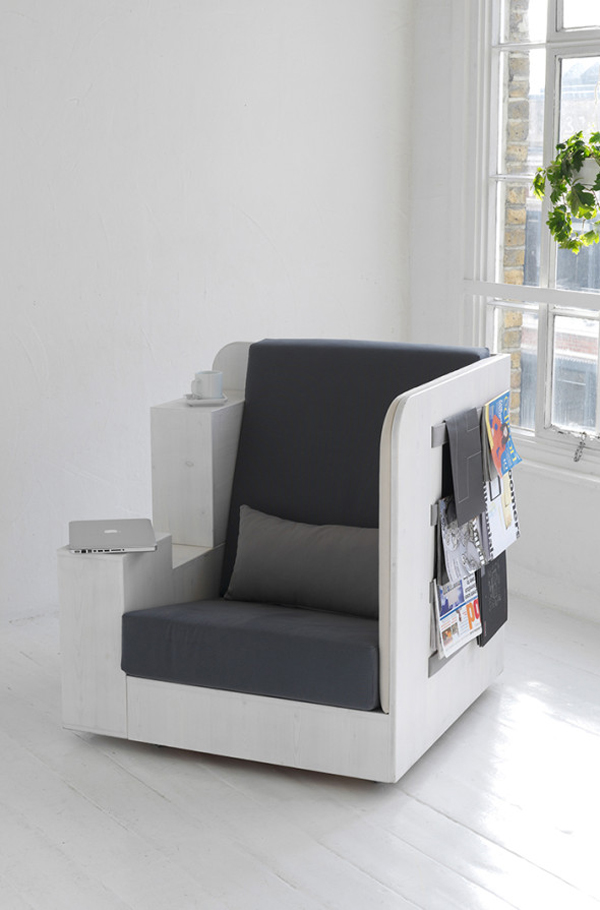 The Open Book Creative And Cool Library Chairs Home Design And Interior