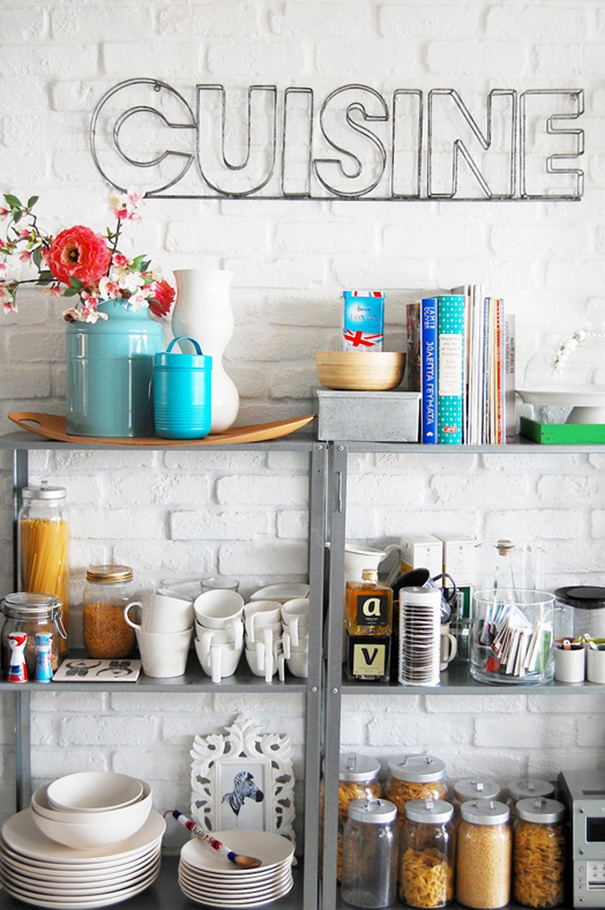modern kitchen organizer