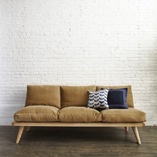 Full Size Sofa Can Fit For Couples Falling In Love, Has Two Seat Cushions  Are Soft, You Can Also Fall Asleep On This Couch.
