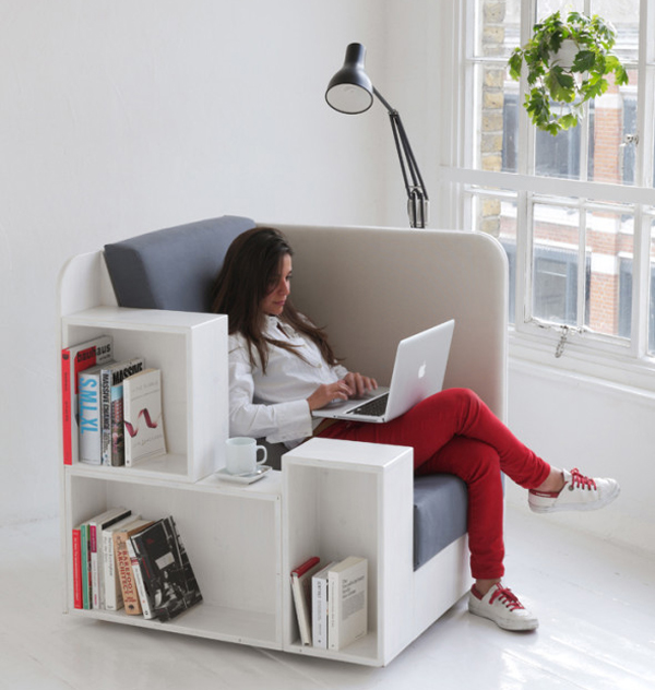 The Open Book Creative and Cool Library Chairs Home Design And