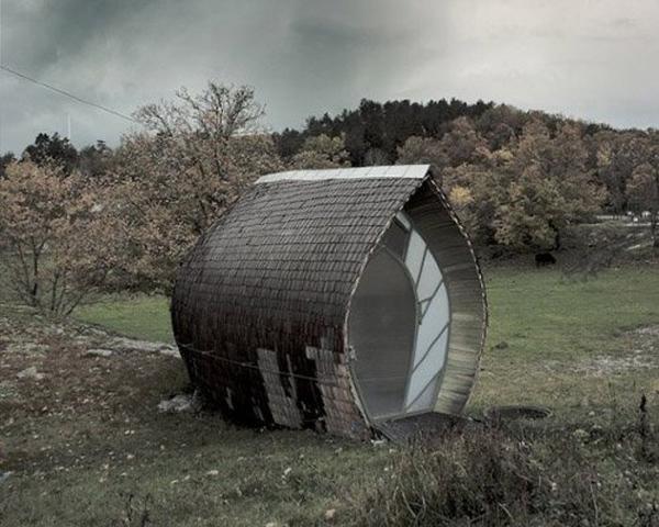 unique small cabins
