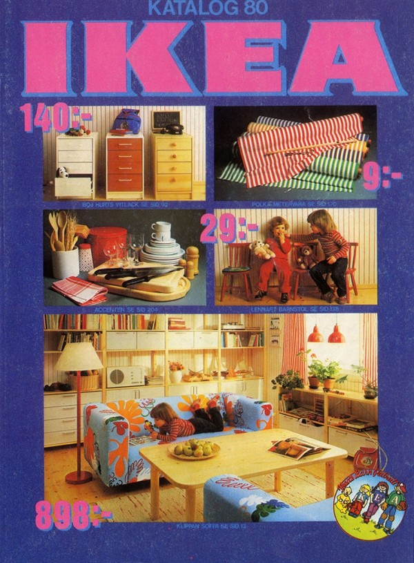 Ikea Catalog Cover 1980