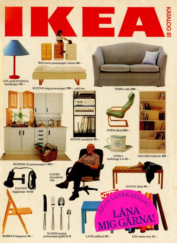 Ikea Catalog Cover 1981