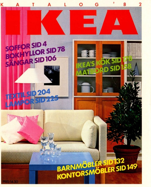 Ikea Catalog Cover 1982