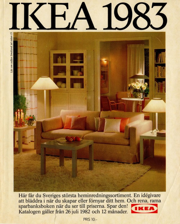 Inspiring ikea catalog covers 1951 2014 home design and interior Home style furniture catalogue