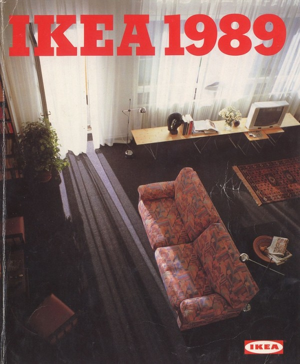 Ikea Catalog Cover 1989