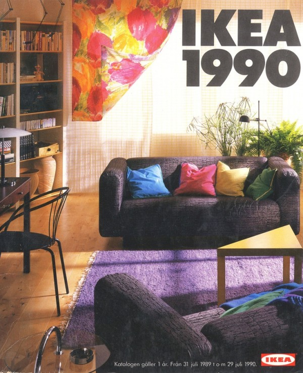 Ikea catalog cover 1990 for Design house catalog