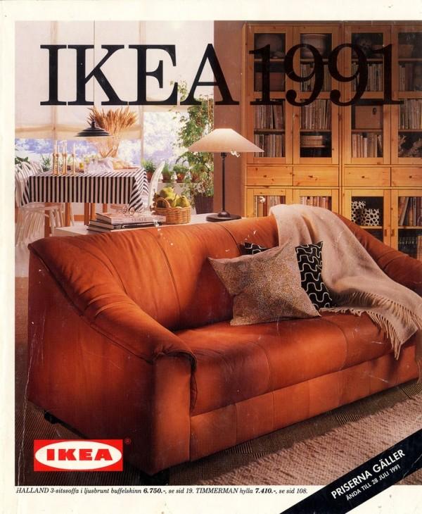 Ikea Catalog Cover 1991 Homemydesign