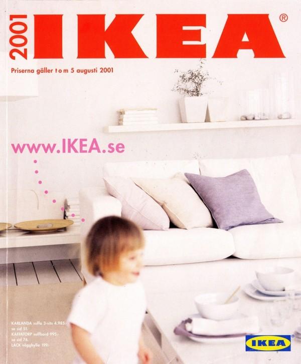 Ikea catalog cover 2001 for Home interiors catalog 2007