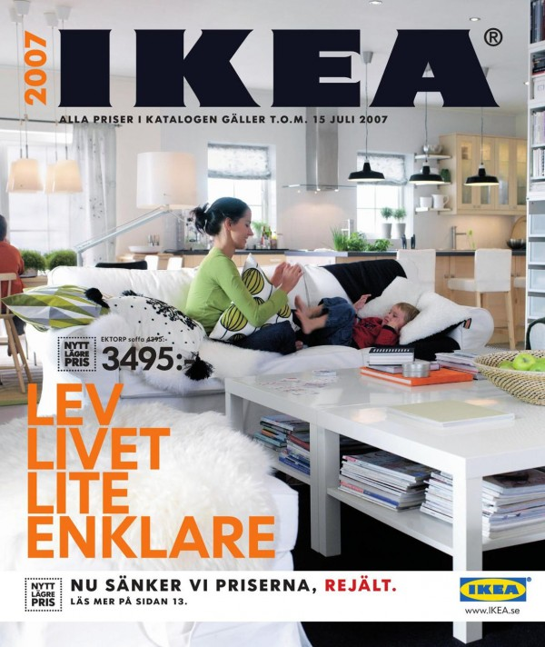 Ikea catalog cover 2007 Design house catalog
