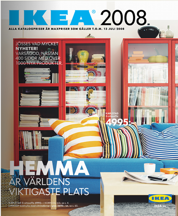 Ikea catalog cover 2008 Design house catalog