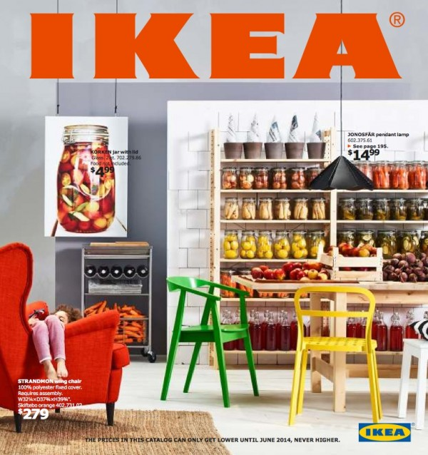 Ikea Catalog Cover 2014