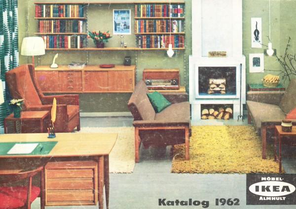 Ikea catalog covers 1962 for Design house catalog