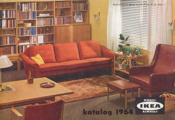 Ikea catalog covers 1964 for Design house catalog