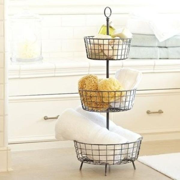 Minimalist Bathroom Toiletries: 25 Simple And Small Bathroom Storage Ideas