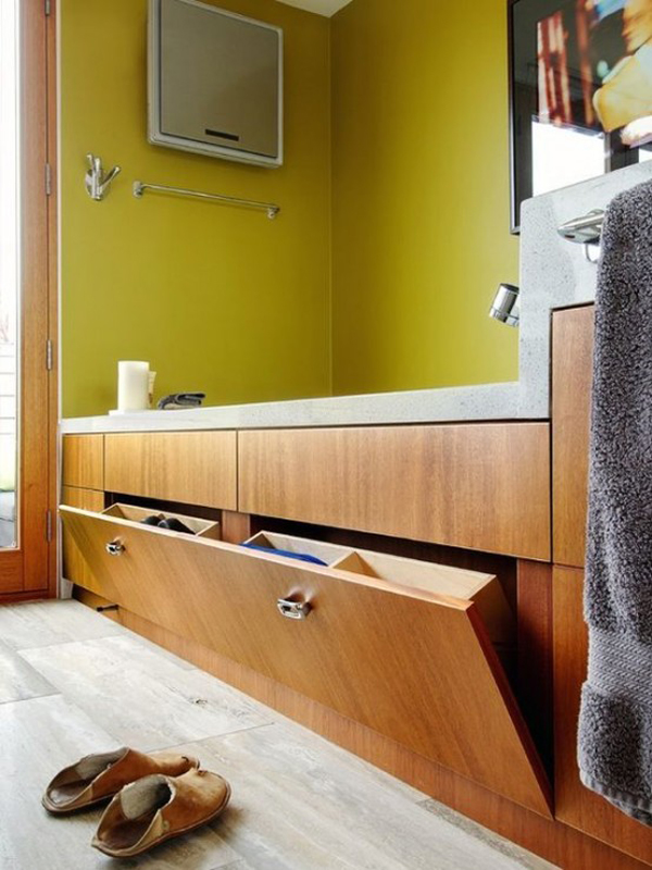 ideas for bathroom storage in small bathrooms 25 simple and small bathroom storage ideas homemydesign 7607