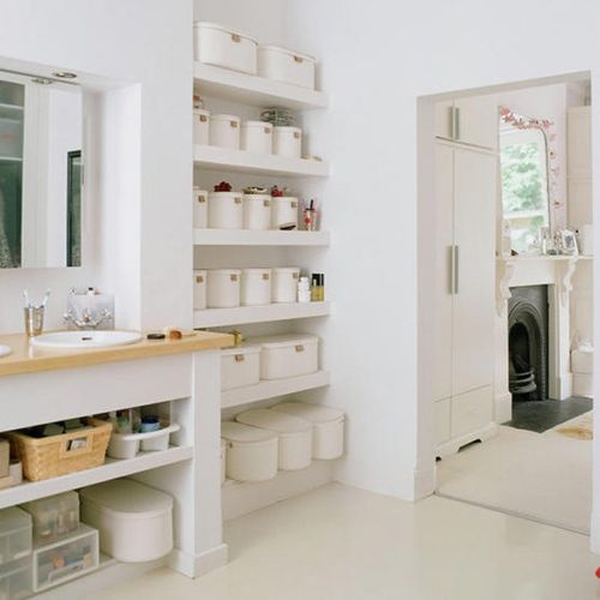Small Bathrooms Storage Solutions 25 simple and small bathroom storage ideas | home design and interior