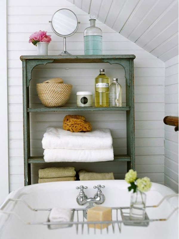 classic bathroom storage ideas