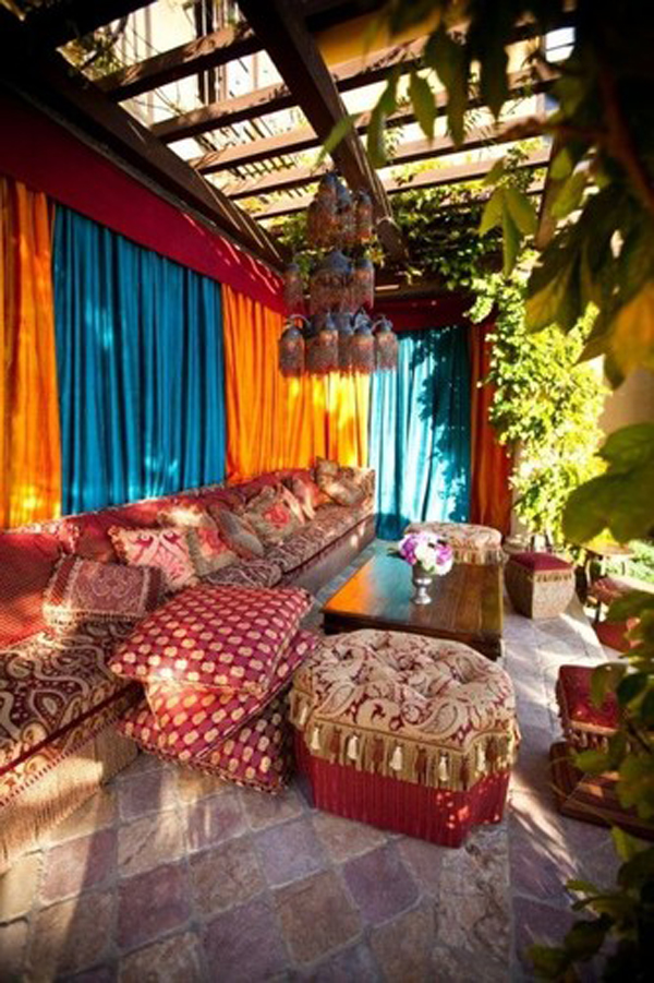 20 moroccan style house with outdoor spaces home design and interior - Moroccan home decor ideas ...