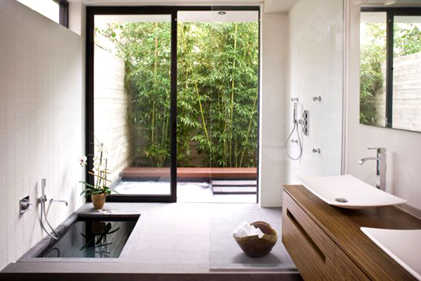 15 creative bathrooms with outdoor space home design and interior