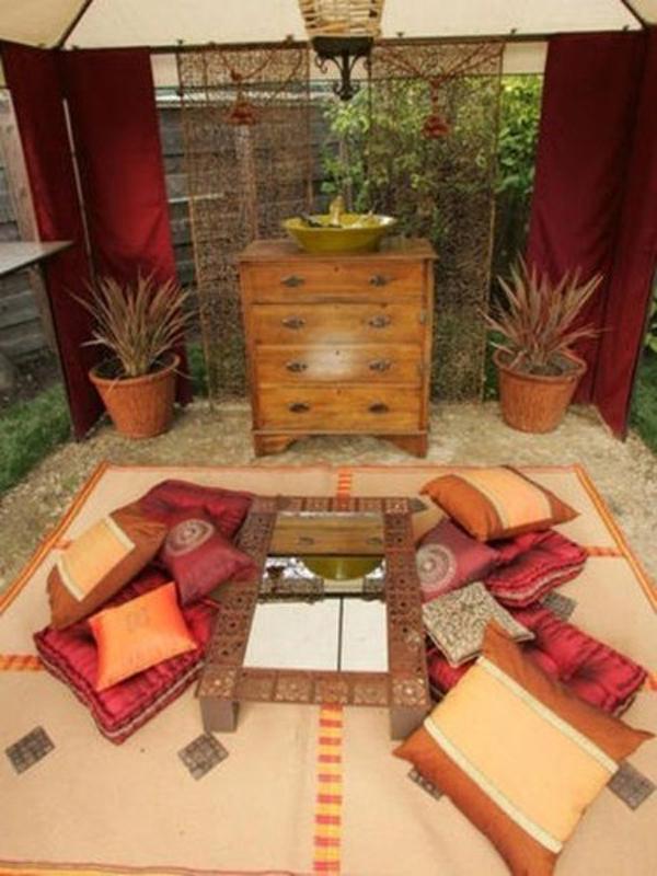 Indian Terrace Garden Decor