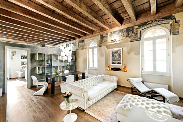 Modern Style Apartment modern apartments with historical style | home design and interior