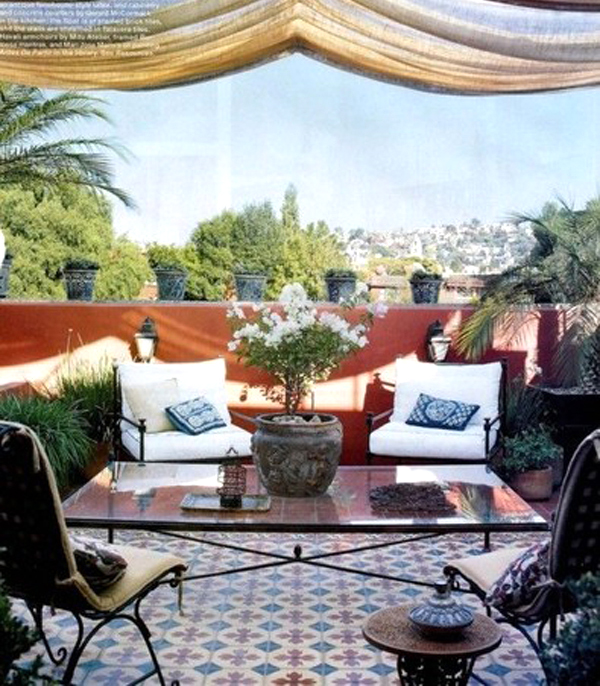 Home Design Ideas Decorating Gardening: 20 Moroccan Style House With Outdoor Spaces