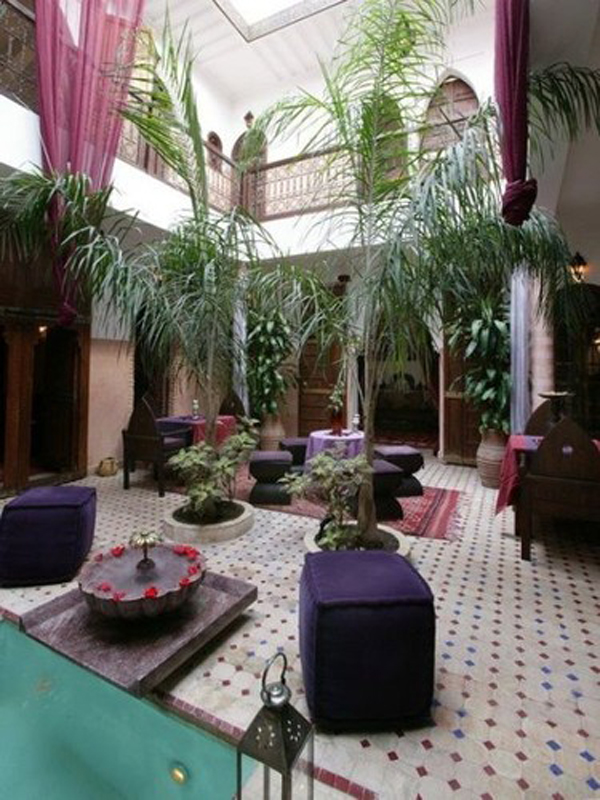 Moroccan house design for Moroccan house plans