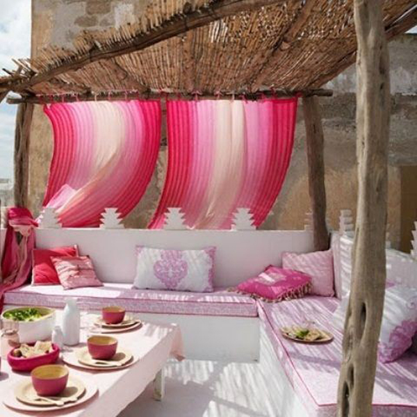 Outdoor Moroccan Decor Design Ideas: 20 Moroccan Style House With Outdoor Spaces