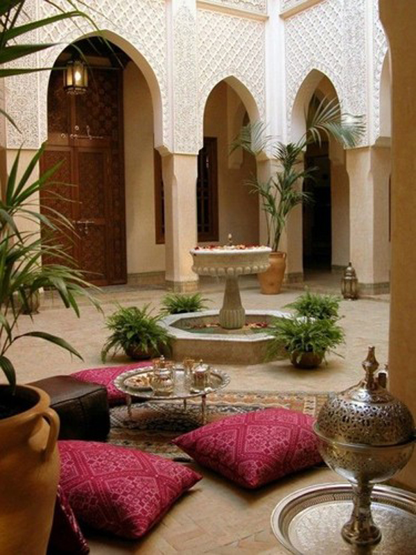 Exceptional 20 Moroccan Style House With Outdoor Spaces Part 5