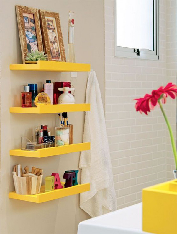 This Fun Bath Furnishings For Interiors And Provide Plenty Of Storage Space,  In Addition To Convenient In Use. Here We Collect 25 Bathroom Storage Ideas  ...