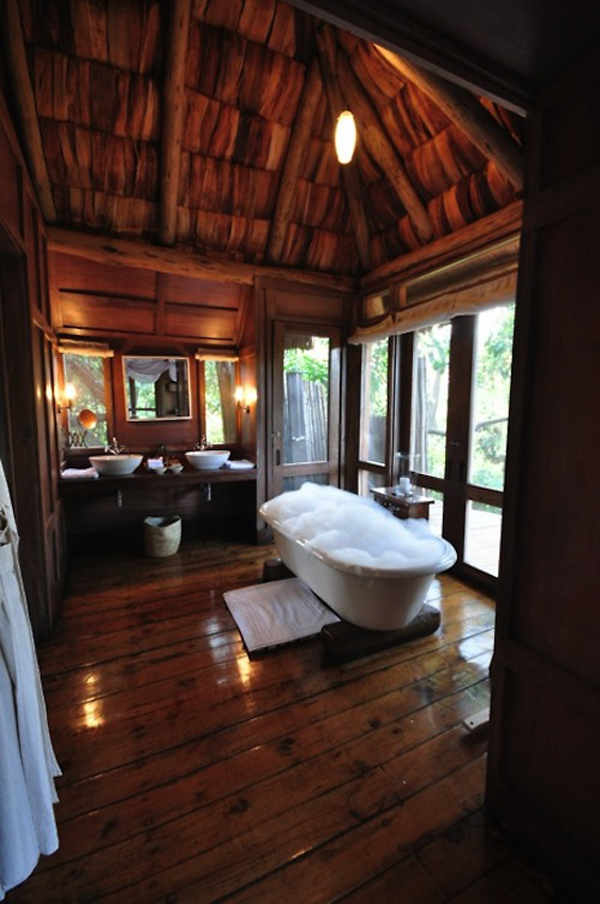 15 tree house ideas back to the green space home design and interior - Tree house bathroom ...