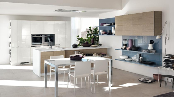 Coloured Kitchen Combination : color-kitchen-combination