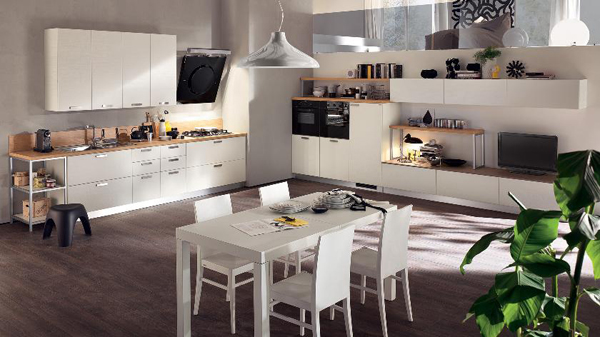 25 contemporary kitchens from scavolini | home design and interior
