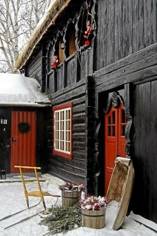 Beautiful Scandinavian Christmas Decorations