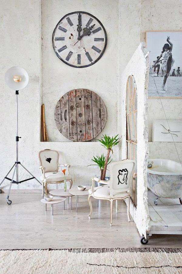 Bohemian Loft Apartment Decor