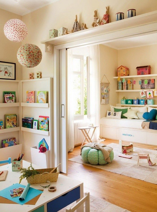 Bright Playroom Furniture Home Design And Interior