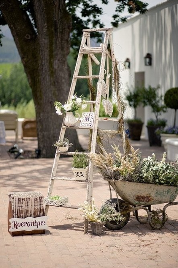 27 Vintage Ladders For Interior Ideas Home Design And