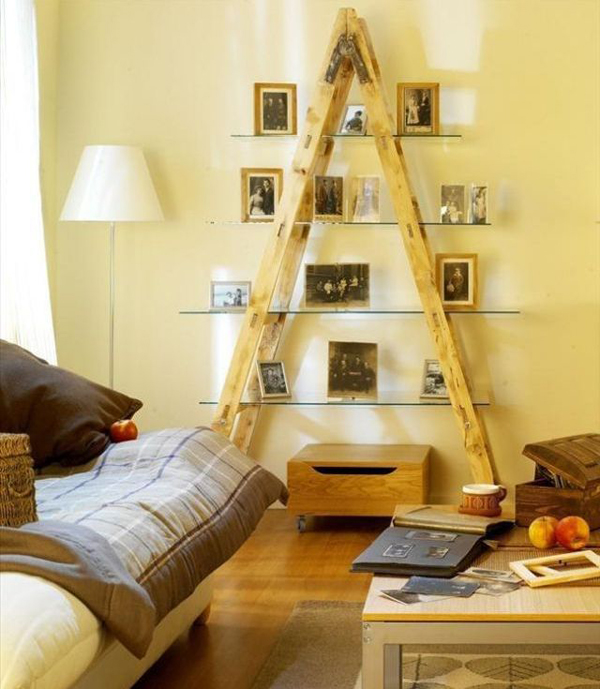 27 Vintage Ladders For Interior Ideas | Home Design And Interior