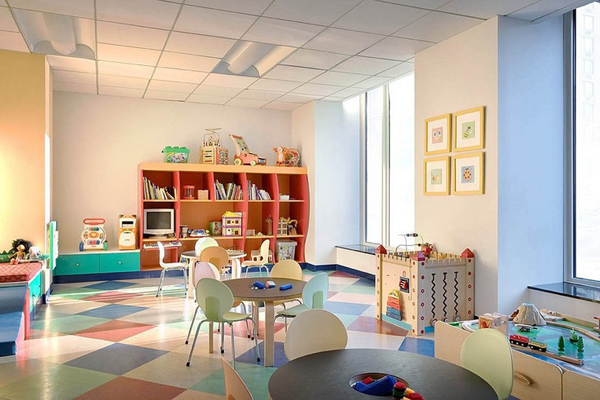 modern kids playroom decorating