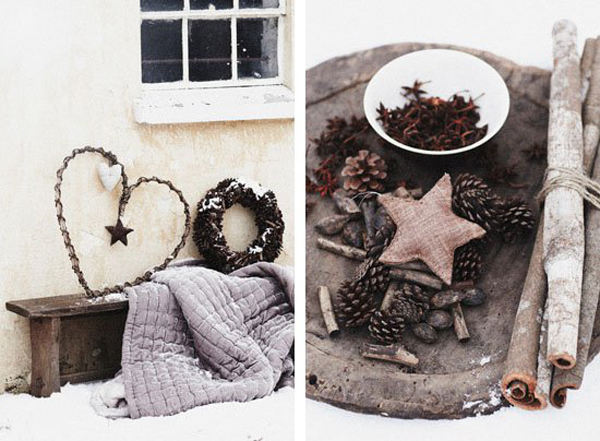 Natural Christmas Decorations Home Design And Interior